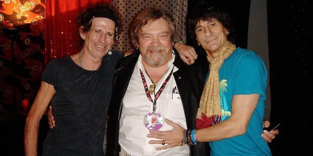"""Dominic Lamblin: """"Les Rolling Stones ont toujours été des gens civilisés"""" - La DH"""