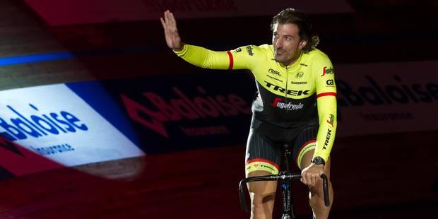 Plus de 6000 personnes pour les adieux de Fabian Cancellara à Gand - La DH