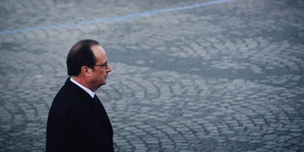 Commémorations des attentats du Paris: Hollande dévoile une plaque au stade de France - La DH