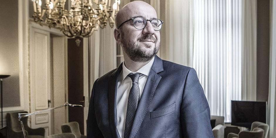 """Charles Michel: """"La sécurisation des frontières de l'UE ne va pas assez vite"""" - La DH"""