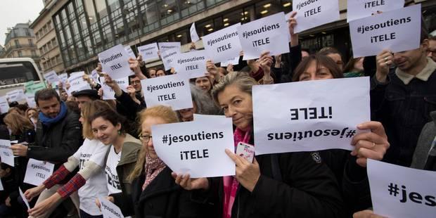 Les salariés d'iTELE reconduisent la grève jusqu'à mercredi - La DH