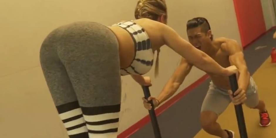 Le Mannequin Challenge super sexy d'une star du fitness (VIDEO)
