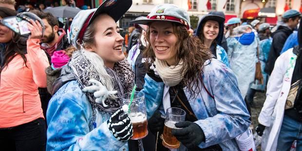 Quelque 7.000 étudiants pour une Saint-Verhaegen sans incident à Bruxelles - La DH