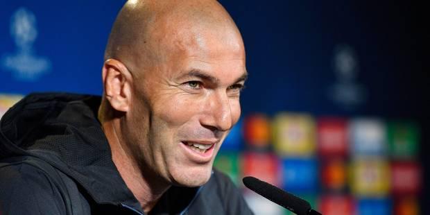 """Atletico-Real: derby """"chaud"""" selon Zidane, """"émouvant"""" pour Simeone - La DH"""