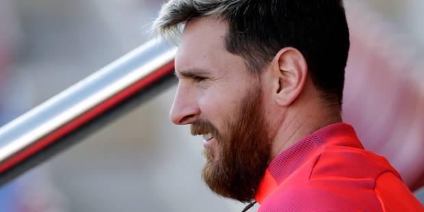 Luis Enrique rassurant après le forfait de Messi contre Malaga - La DH