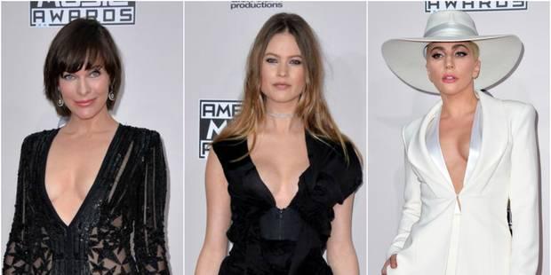 American Music Awards : un tapis rouge où l'on montre presque tout - La DH