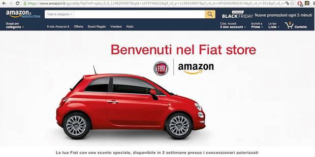 Sur Amazon, des voitures à acheter en un clic ! - La DH