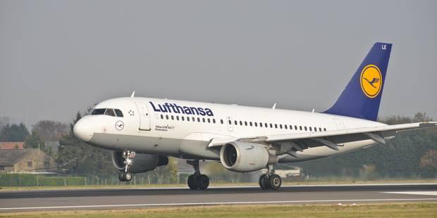 Grève des pilotes: Lufthansa supprime 876 vols mercredi - La DH