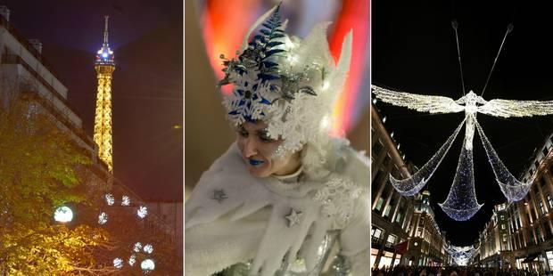 Paris, Berlin, Londres: c'est déjà Noël dans ces capitales européennes (VIDEO) - La DH