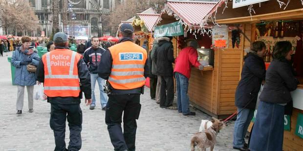 La police sera présente en grand nombre aux Plaisirs d'Hiver - La DH
