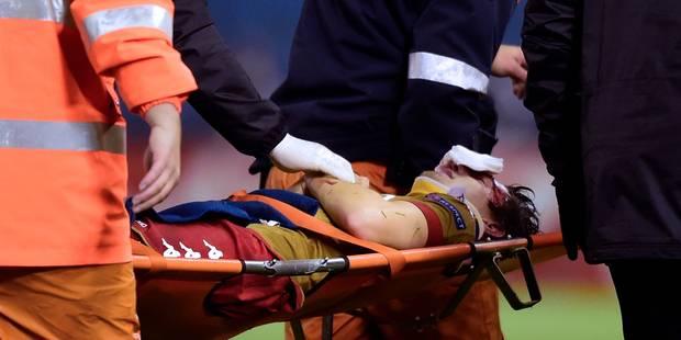 Après son violent choc avec le gardien, Raman rassure sur Twitter (PHOTO + VIDEO) - La DH