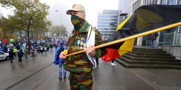 Les syndicats militaires, satisfaits de la rencontre avec Steven Vandeput, veulent voir Charles Michel - La DH
