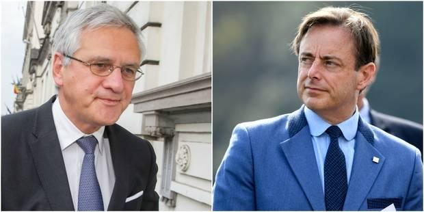 """De Wever à propos de l'arrivée de Kris Peeters à Anvers: le """"CD&V n'est plus au centre"""" - La DH"""