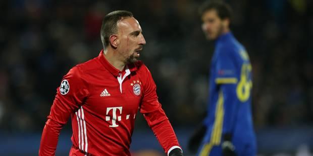 Franck Ribéry prolonge au Bayern - La DH