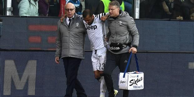 Le Bianconero Dani Alvès gravement blessé - La DH