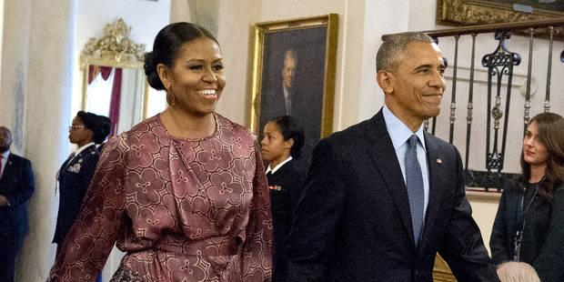 Michelle Obama fait honneur à la mode belge - La DH
