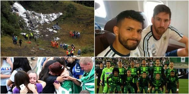 Messi et l'Argentine ont volé avec l'avion de Chapecoense il y a 18 jours