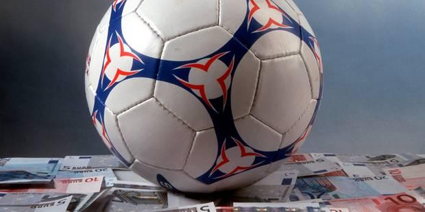 41% des footballeurs ne reçoivent pas leur salaire à temps, 7% approchés pour truquer un match - La DH