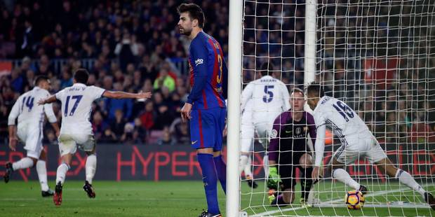 Sergio Ramos et le Real prennent un point inespéré à Barcelone (1-1) - La DH