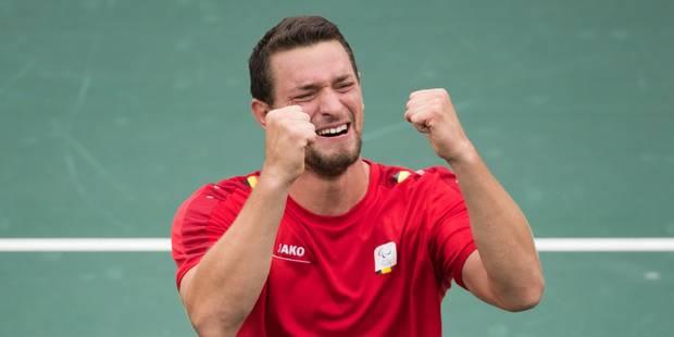 Joachim Gérard conserve son titre au Masters face au champion paralympique Gordon Reid - La DH