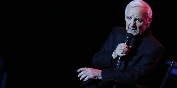 A 92 ans, Charles Aznavour dit adieu à son public belge - La DH