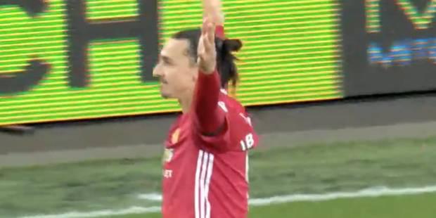 Lob, barre, poteau et finalement but pour Zlatan - La DH