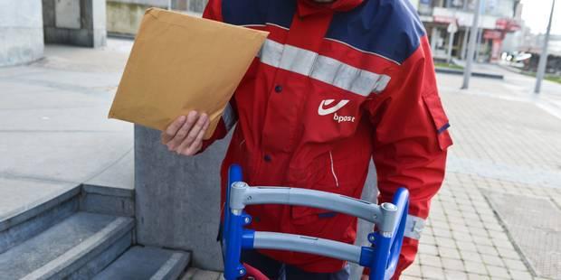 Pas de courrier dans le grand Liège ce lundi - La DH