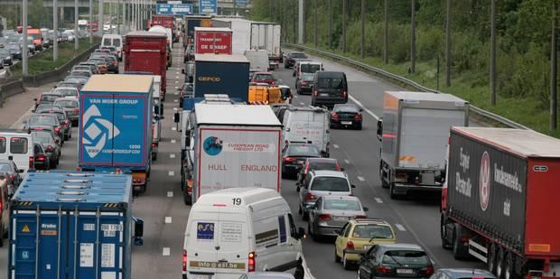 Trafic: Évitez la E40 vers Bruxelles depuis la Flandre - La DH