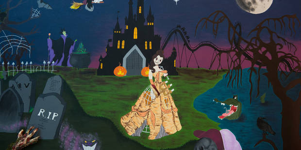 """Découvrez le concours """"Fresque géante"""" pour Halloween organisé par la DH en vidéo - La DH"""