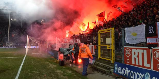 Le Standard condamné à deux matches à huis-clos: le club réagit... et ne comprend pas - La DH