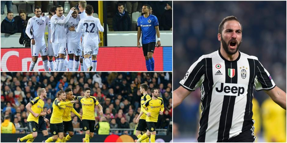 Ligue des Champions: 0/18 pour Bruges, la Juve fait le travail, le Real est surpris par Dortmund et finit 2e de son groupe! (VIDEOS)