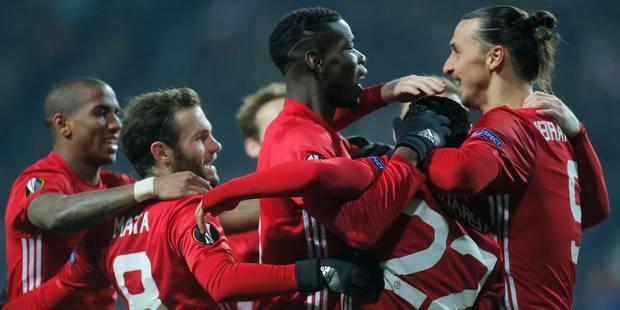 Europa League: Manchester United qualifié, Saint-Etienne finit premier - La DH