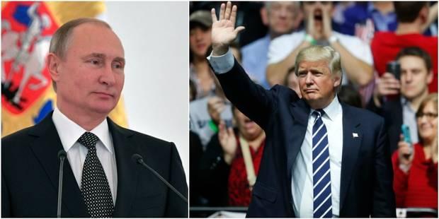 La Russie a aidé Trump à gagner ! - La DH