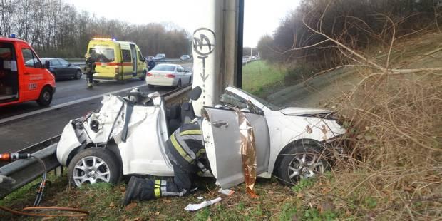 Accident mortel sur l'A54 à Luttre: la vicitime a succombé à ses blessures - La DH