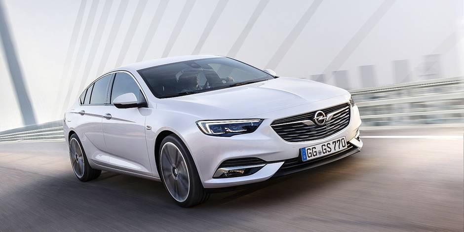 Une Opel haut de gamme en 2017 - La DH