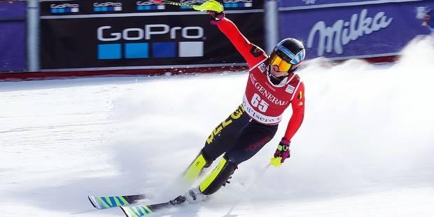 Historique en ski alpin: Un Belge dans les points! - La DH