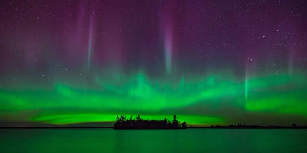 Magnifique aurore boréale dans un parc du Minnesota (PHOTOS) - La DH