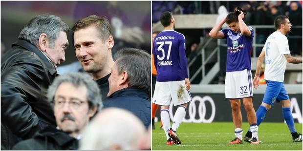 """Zitka après le triste Anderlecht - Bruges: """"Eddy Merckx n'était pas content"""" - La DH"""