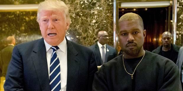 """Donald Trump a reçu Kanye West: """"On a discuté de la vie"""" - La DH"""