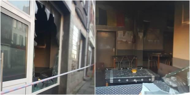 Incendie criminel au centre culturel kurde de Gilly, à Charleroi (PHOTOS) - La DH
