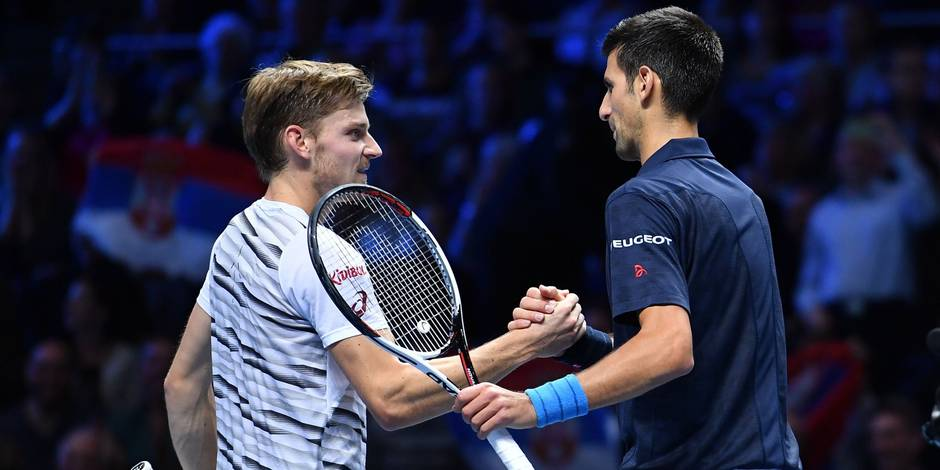 Goffin tape la balle avec Djokovic (VIDEO)
