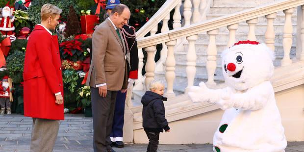 Monaco : les jumeaux, stars de la distribution des cadeaux de Noël sur le Rocher - La DH