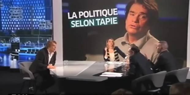 """Bernard Tapie menace """"d'en mettre une"""" à Zemmour après une discussion sur l'immigration (VIDEO) - La DH"""