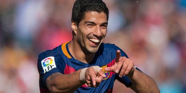 Luis Suarez prolonge au Barça jusqu'en 2021 - La DH