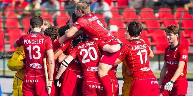 Coupe du Monde de hockey U21: La Belgique en finale après sa victoire sur l'Allemagne! - La DH