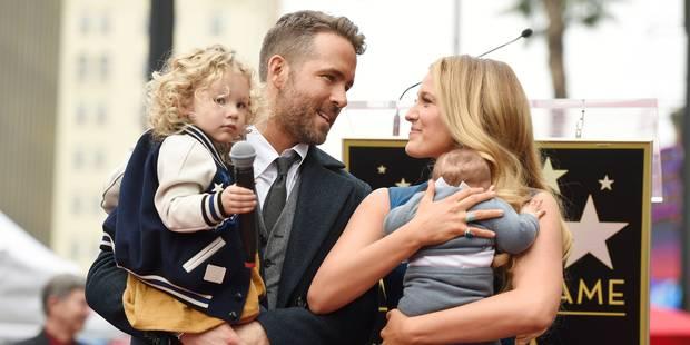 Ryan Reynolds Blake Lively présentent pour la première fois leurs filles - La DH