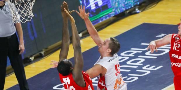 Euromillions Basket League : Charleroi et Mons dans le top 5, première défaite à domicile du Brussels - La DH