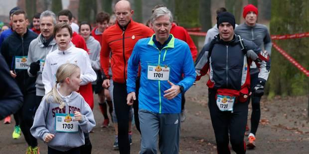 Le roi Philippe a enfilé son trainning pour un jogging de bienfaisance - La DH