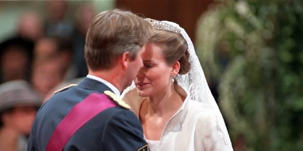 Des images inédites de la Reine Mathilde la veille de son mariage - La DH