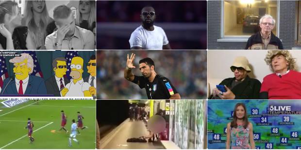Voici notre top 10 des vidéos buzz de l'année 2016 - La DH